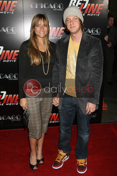 Randy Spelling and friend<br />