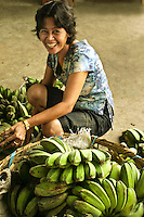 Green Bananas at Tabgilaran Market