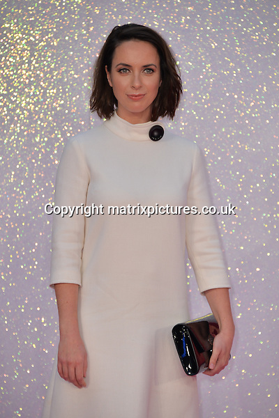 NON EXCLUSIVE PICTURE: MATRIXPICTURES.CO.UK<br /> PLEASE CREDIT ALL USES<br /> <br /> WORLD RIGHTS<br /> <br /> British &quot;Doctor Thorne&quot; actress Kate O'Flynn attends the world premiere of &quot;Bridget Jones's Baby&quot; at Leicester Square in London.<br /> <br /> SEPTEMBER 5th 2016<br /> <br /> REF: JWN 162864