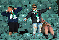 Manawatu fans watch the Farah Palmer Cup women's rugby match between Manawatu Cyclones and Wellington Pride at CET Stadium in Palmerston North, New Zealand on Saturday, 12 October 2019. Photo: Dave Lintott / lintottphoto.co.nz