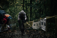 Mathieu van der Poel (NED/Beobank-Corendon)<br /> <br /> Elite Men's race<br /> Superprestige Gavere / Belgium 2017