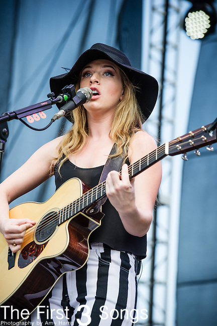 ZZ Ward performs during Day 2 of the 2013 Firefly Music Festival in Dover, Delaware.