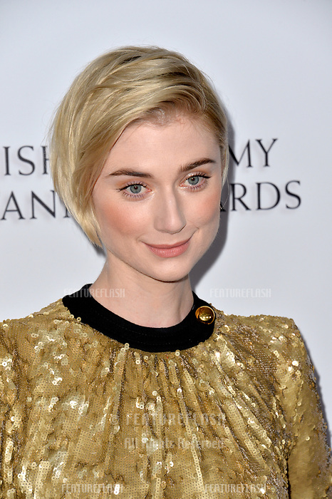 BEVERLY HILLS, CA. October 26, 2018: Elizabeth Debicki at the 2018 British Academy Britannia Awards at the Beverly Hilton Hotel.<br /> Picture: Paul Smith/Featureflash