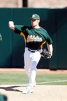 Chris Schroder - Oakland Athletics 2009 spring training.Photo by:  Bill Mitchell/Four Seam Images