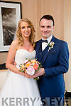 Emer Hennessy, Foynes, daughter of Brendan and Jean Hennessy, and Dan Roche, Knocknagoshel, son of Donie and Catherine Roche were married at St. Senan, Robertstown Foynes, by Canon Anthony O'Keeffe on Saturday 9th April 2016 with a reception at Ballygarry House Hotel