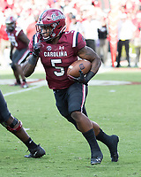 Columbia, South Carolina - September 8, 2018: Williams-Brice Stadium, University of South Carolina Gamecocks vs University of Georgia Bulldogs.  Final score University of South 17, University of Georgia 41.