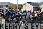 Cyclists & walkers took part in a 10 mile cycle and a 4 mile walk from Dungegan on Sunday last in aid of the Haiti disaster.