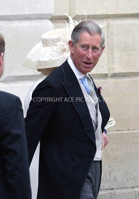 WWW.ACEPIXS.COM . . . . .  ... . . . . US SALES ONLY . . . . .....WINDSOR, APRIL 9, 2005....Prince Charles and Camilla Parker Bowles pictured arriving at Windsor Town Hall for their wedding.....Please byline: FAMOUS-ACE PICTURES-P. POPE... . . . .  ....Ace Pictures, Inc:  ..Craig Ashby (212) 243-8787..e-mail: picturedesk@acepixs.com..web: http://www.acepixs.com