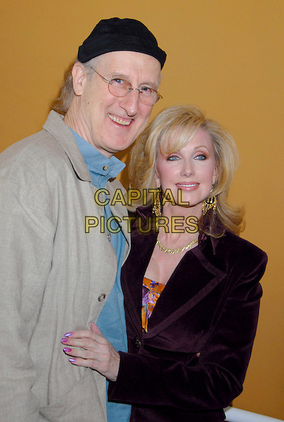 """JAMES CROMWELL & MORGAN FAIRCHILD.The Screen Actors Guild Foundation and Zimand Entertainment host prize-winning ceremony for Los Angeles Children's """"Love Equals"""" writing contest held at the Beverly Center, 8th Floor Food Court, ,Los Angeles, USA, 14 February 2007..half length.CAP/ADM/GB.©Gary Boas/AdMedia/Capital Pictures."""