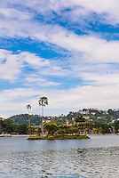 Kandy Lake, Kandy, Central Province, Sri Lanka, Asia. This is a photo of Kandy Lake in Kandy, Central Province of Sri Lanka, Asia. Kandy is the second largest city in Sri Lanka, and is home to beautiful Kandy Lake.