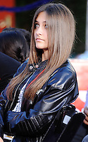 HOLLYWOOD, CA - JANUARY 26: Paris Jackson during the Michael Jackson Hand And Footprint Ceremony at Grauman's Chinese Theatre on January 26, 2012 in Hollywood, California.