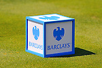 30 August 2009: A tee marker in The Barclays PGA Playoffs at Liberty National Golf Course in Jersey City, New Jersey.