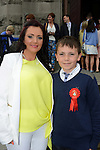 10/05/2015 – Saint Mary's Confirmation – Josh Dyas with his mother Lisa. Picture: www.newsfile.ie