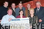 Fleadh Sponsors: At the Launch of the Fleadh by the Feale in The Cellar Bar, Abbeyfeale, on Wednesday night were (seated) Dan Murphy, Dearbhla Conlon Ahern and Maureen Murphy. Back l-r: Tim Lyons (Mann's Costcutters), Paul Morris (Kostal), John Mangan, Thomas Mann (Mann's Costcutters) and Ciaran Curtin..
