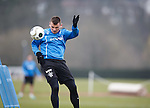 Lee McCulloch heads in past Cammy Bell in goals