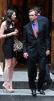 June 30, 2012  Robert Kenndy Jr., Kyra Kennedy,  attend the Alec Baldwin and Hilaria Thomas Wedding Day at Basilica of St. Patrick's Old Cathedral in Little Italy in New York City.Credit:&copy; RW/MediaPunch Inc. /*NORTEPHOTO.COM*<br /> *SOLO*VENTA*EN*MEXiCO* *CREDITO*OBLIGATORIO** *No*Venta*A*Terceros* *No*Sale*So*third* ***No Se*Permite*Hacer*Archivo** *No*Sale*So*third*&Acirc;&copy;Imagenes con derechos de autor,&Acirc;&copy;todos reservados. El uso de las imagenes est&Atilde;&iexcl; sujeta de pago a nortephoto.com El uso no autorizado de esta imagen en cualquier materia est&Atilde;&iexcl; sujeta a una pena de tasa de 2 veces a la normal. Para m&Atilde;&iexcl;s informaci&Atilde;&sup3;n: nortephoto@gmail.com* nortephoto.com.