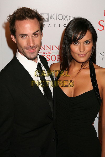 "JOSEPH FIENNES & MARIA DOLORES.World Premiere of ""Running With Scissors"", Beverly Hills, California, USA..October 10th, 2006.Ref: ADM/BP.half length black halterneck dress jacket.www.capitalpictures.com.sales@capitalpictures.com.©Byron Purvis/AdMedia/Capital Pictures."
