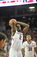 NWA Democrat-Gazette/Michael Woods --02/03/2015--w@NWAMICHAELW... University of Arkansas take on the South Carolina Gamecocks Tuesday evening at Bud Walton Arena in Fayetteville.