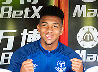 Everton Mason Holgate during the Premier League match between Crystal Palace and Everton at Selhurst Park, London, England on 10 August 2019. Photo by Andrew Aleksiejczuk / PRiME Media Images.
