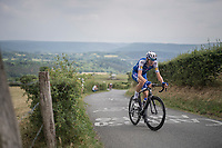 Laurens De Plus (BEL/QuickStep Floors) up La Redoute<br /> <br /> Ster ZLM Tour (2.1)<br /> Stage 4: Hotel Verviers &gt; La Gileppe (Jalhay)(190km)