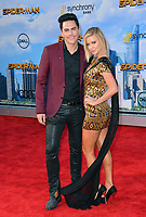 Ariana Madix &amp; Tom Sandoval at the world premiere for &quot;Spider-Man: Homecoming&quot; at the TCL Chinese Theatre, Los Angeles, USA 28 June  2017<br /> Picture: Paul Smith/Featureflash/SilverHub 0208 004 5359 sales@silverhubmedia.com