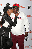 """LOS ANGELES - NOV 18:  Tichina Arnold, Cedric the Entertainer at the The Neighbohood Celebrates the """"Welcome to Bowling"""" Episode at Pinz Bowling Alley on November 18, 2019 in Studio City, CA"""