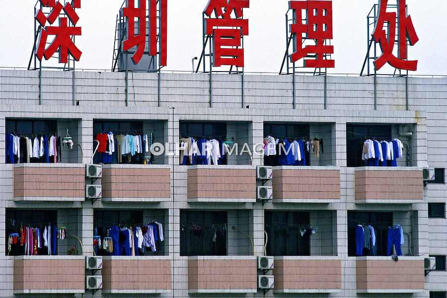 Prédio de apartamentos em Nanning. China. 2007. Foto de Flávio Bacellar.
