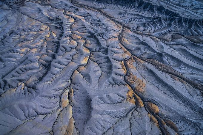 The badlands of Utah.