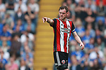 Richard Stearman of Sheffield Utd during the championship match at St Andrews Stadium, Birmingham. Picture date 21st April 2018. Picture credit should read: Simon Bellis/Sportimage