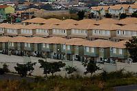 Contagem_MG, Brasil...Condominios de baixa renda no Bairro Cabral em Contagem...The low-income housing in Cabral neighborhood in Contagem...Foto: LEO DRUMOND / NITRO.