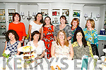 Enjoying the Jack and Jill Foundation afternoon charity tea event to mark 20th anniversary at the Rose Hotel on Saturday were front l-r Trisha Horgan, Margaret Canty, Martina Canty, Kilflynn, who's celebrating a birthday, Elma Shanahan, Back l-r Liza O'Donoghue, Spela Cavar, Aine O Neill, Diana Broderick, Claudia Kohler, Deirdre Enright