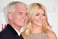 LONDON, UK. November 24, 2016: Phillips Schofield &amp; Holly Willoughby at the 2016 ITV Gala at the London Palladium Theatre, London.<br /> Picture: Steve Vas/Featureflash/SilverHub 0208 004 5359/ 07711 972644 Editors@silverhubmedia.com