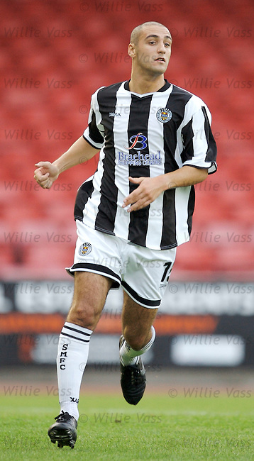 Billy Mehmet, St Mirren.stock season 2006-2007.pic willie vass