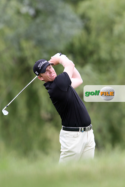 Andrew Dodt (AUS) on the 18th on Day 2 of the Alstom Open de France at Golf National,  Saint-Quentin-En-Yvelines, Paris, France, 6/7/12...(Photo Jenny Matthews/www.golffile.ie)