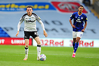 Max Bird of Derby County in action during the Sky Bet Championship match between Cardiff City and Derby County at the Cardiff City Stadium in Swansea, Wales, UK. Tuesday 14 July 2020
