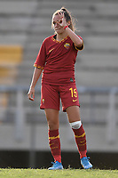 Annamaria Serturini of AS Roma celebrates after scoring a penalty <br /> Roma 8/9/2019 Stadio Tre Fontane <br /> Luisa Petrucci Trophy 2019<br /> AS Roma - Paris Saint Germain<br /> Photo Andrea Staccioli / Insidefoto