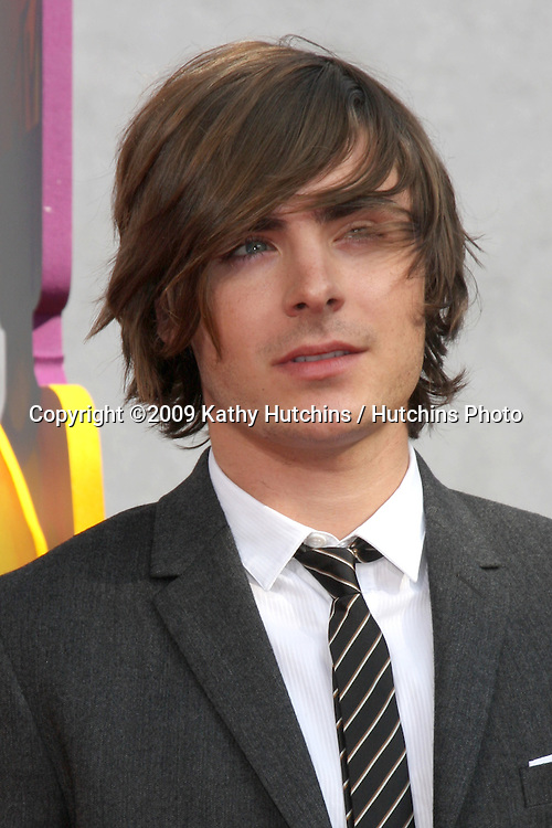 Zac Efron  arriving at the 2009 MTV Movie Awards in Universal City, CA  on May 31, 2009 .©2009 Kathy Hutchins / Hutchins Photo..
