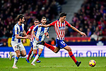 Rodrigo Cascante of Atletico de Madrid in action during the La Liga 2018-19 match between Atletico de Madrid and RCD Espanyol at Wanda Metropolitano on December 22 2018 in Madrid, Spain. Photo by Diego Souto / Power Sport Images