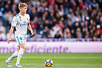 Toni Kroos of Real Madrid in action during the La Liga 2017-18 match between Real Madrid and UD Las Palmas at Estadio Santiago Bernabeu on November 05 2017 in Madrid, Spain. Photo by Diego Gonzalez / Power Sport Images