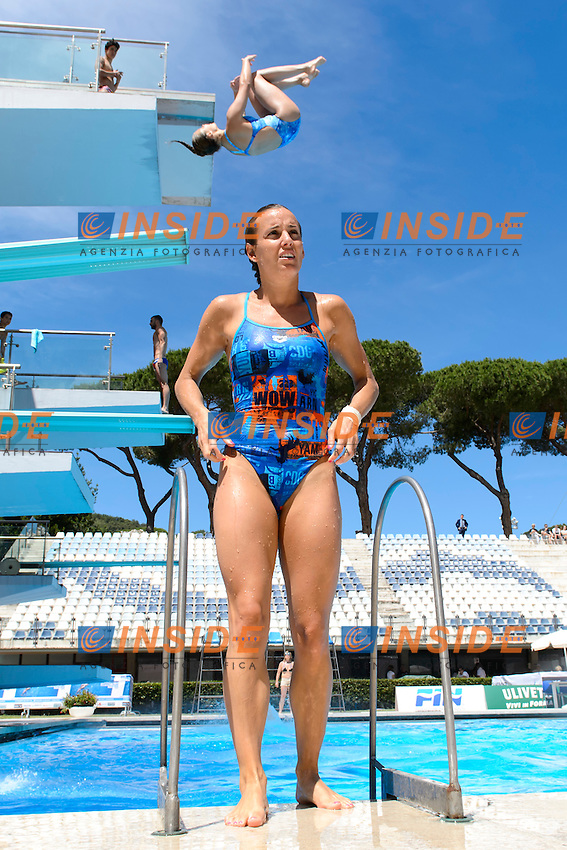 Tania Cagnotto <br /> 3m Trampolino Donne<br /> Roma 21-06-2016 Stadio del Nuoto Foro Italico Tuffi Campionati Italiani <br /> Foto Andrea Staccioli Insidefoto