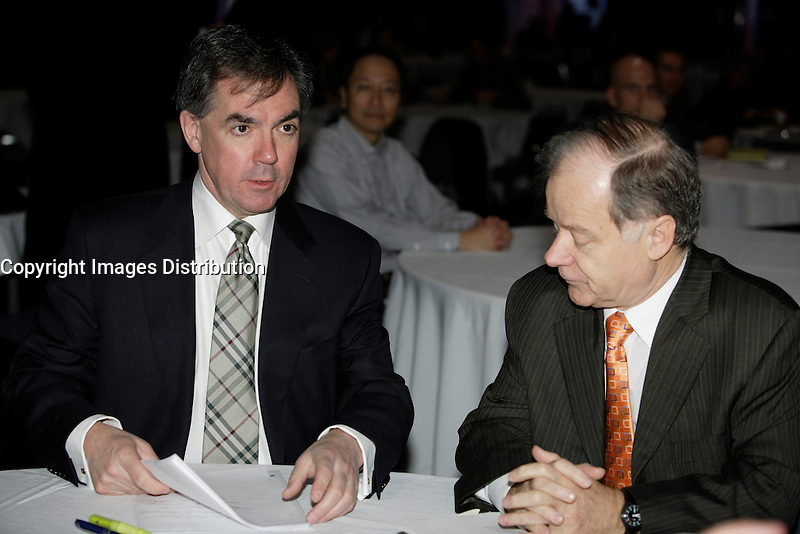 Montreal (QC) CANADA, March 16 to 19 2009 - <br /> Canada Environment Minister Jim Prentice  speak on the opening of Americana, March 17, 2009.