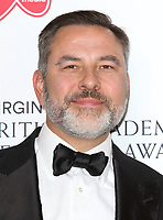 David Walliams at the Virgin Media BAFTA Television Awards 2019 - Press Room at The Royal Festival Hall, London on May 12th 2019<br /> CAP/ROS<br /> ©ROS/Capital Pictures