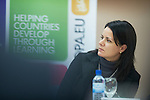 Ohrid - Macedonia - 25 October 2011 -- ETF IPA SOC Network Meeting --Viera Mitrovic-Radosevic in the plenary sessions at Metropol Hotel, Ohrid -- PHOTO: Ard JONGSMA / EUP-IMAGES