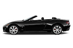 Driver side profile of a 2014 Maserati GranCabrio Sport Convertible