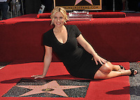 Actress Kate Winslet is honored with the 2,520th star on the Hollywood Walk of Fame.<br /> March 17, 2014  Los Angeles, CA<br /> Picture: Paul Smith / Featureflash