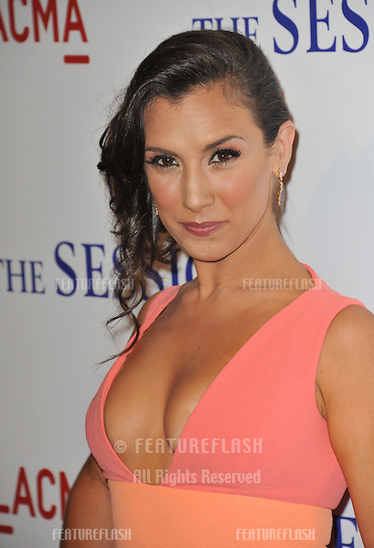 "Annika Marks at the premiere of her movie ""The Sessions"" at the LA County Museum of Art..October 10, 2012  Los Angeles, CA.Picture: Paul Smith / Featureflash"