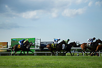 ELMONT, NY - JUNE 08:  Belmont Gold Cup Invitational during Friday racing action of the Belmont Stakes Festival at Belmont Park on June 8, 2018 in Elmont, New York. (Photo by Kaz Ishida/Eclipse Sportswire/Getty Images)
