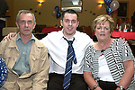 Karl Lawless with his parents at his  21st Star and Crescent...Photo NEWSFILE/Jenny Matthews.(Photo credit should read Jenny Matthews/NEWSFILE)....This Picture has been sent you under the condtions enclosed by:.Newsfile Ltd..The Studio,.Millmount Abbey,.Drogheda,.Co Meath..Ireland..Tel: +353(0)41-9871240.Fax: +353(0)41-9871260.GSM: +353(0)86-2500958.email: pictures@newsfile.ie.www.newsfile.ie.FTP: 193.120.102.198.