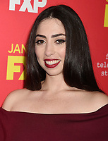 HOLLYWOOD, CA - JANUARY 08: Actress Olivia Sandoval attends the Premiere Of FX's 'The Assassination Of Gianni Versace: American Crime Story' at ArcLight Hollywood on January 8, 2018 in Hollywood, California.<br /> CAP/ROT/TM<br /> &copy;TM/ROT/Capital Pictures