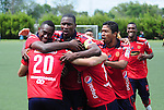 El Deportivo Independiente Medellín conquistó un triunfo importantísimo, 1 gol por cero ante Águilas Doradas, en el estadio Alberto Grisales de Rionegro, en duelo de la jornada 13 del Torneo Apertura Colombiano 2015, este domingo por la tarde.